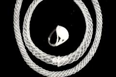 Hengeres nyekék garnitúra (1982)